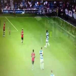 QPR [3]-1 Manchester United - Moses Odubajo 59'