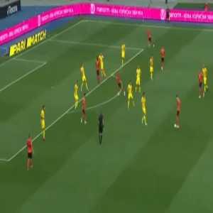Shakhtar Donetsk 2-0 Inhulets Petrove - Alan Patrick 34' (UPL round 1)