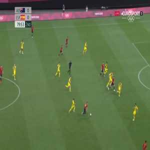 Australia 0-1 Spain - Mikel Oyarzabal 80'