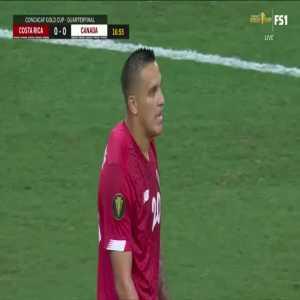 Costa Rica 0-1 Canada - Junior Hoilett 18'