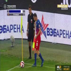 CSKA Moscow 1-0 Ufa - Anton Zabolotnyi 61'