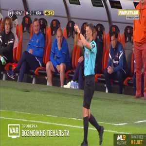 Matvey Safonov (Krasnodar) penalty save against Ural 45'+2'