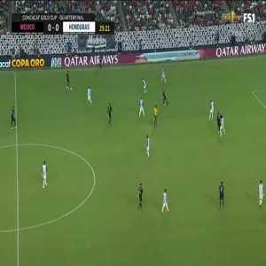 Mexico 1-0 Honduras: Funes Mori 26'