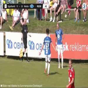 Molde [4]-1 Spjelkavik - Albert Braut Tjåland 90'+3' (Debut goal - Haalands cousin)