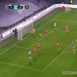 River Plate 1-0 Union de Santa Fe: Braian Romero goal 12'