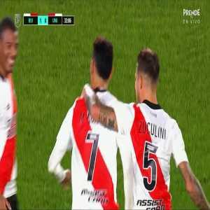 River Plate 2-0 Union de Santa Fe: Matias Suarez golazo 33'