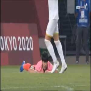 Romania 0-3 South Korea - Kang-In Lee penalty 83'