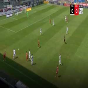 Sandhausen 0-1 Dusseldorf - Rouwen Hennings 56'