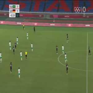 Saudi Arabia 1-[2] Germany - Ragnar Ache 43'