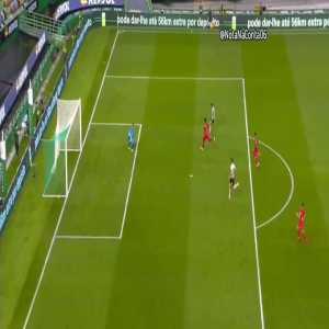 Sporting Portugal [1]-1 Olympique Lyonnais - Paulinho - 31'