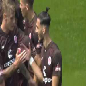 St. Pauli 1-0 Holstein Kiel - Leart Paqarada great strike 11'