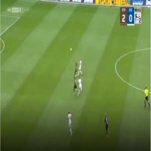 St. Pauli 3-0 Holstein Kiel - Guido Burgstaller 90'+1'