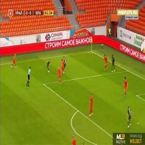 Ural 0-1 Krasnodar - Tonny Vilhena 62'