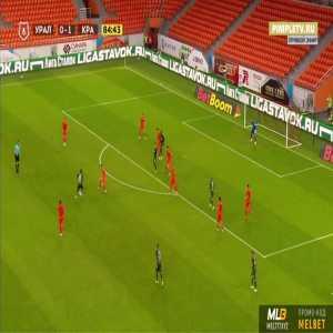 Ural 0-2 Krasnodar - Tonny Vilhena 85'