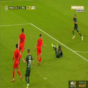 Ural 0-3 Krasnodar - Jhon Cordoba penalty 90'+5'