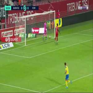 Dijon 0 - [1] Sochaux - Gaëtan Weissbeck 52' [Ligue 2]