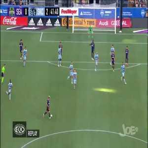 Seattle Sounders 0 - [2] Kansas City | Daniel Salloi 43' [MLS]