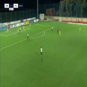 Hibernians [2]-2 Folgore [5-3 on agg.] - Wilfried Domoraud 47'