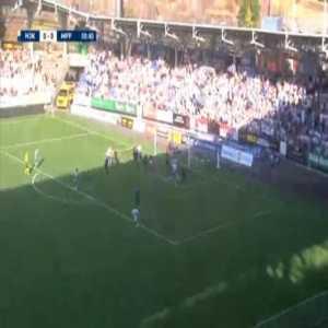 HJK 1-0 Malmo FF [2-2 on agg.] - Miro Tenho 1'