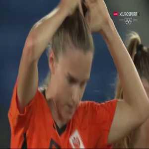 Netherlands [5]-1 China – Vivianne Miedema 65' (Women's Olympic Football Tournament)