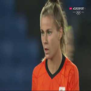 Netherlands [7]-2 China – Victoria Pelova 71' (Women's Olympic Football Tournament)