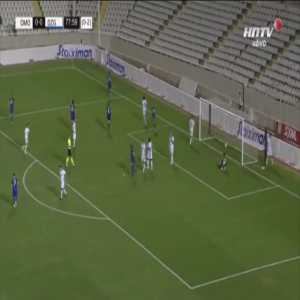Omonia 0-1 Dinamo Zagreb [0-3 on agg.] - Luka Menalo 79'