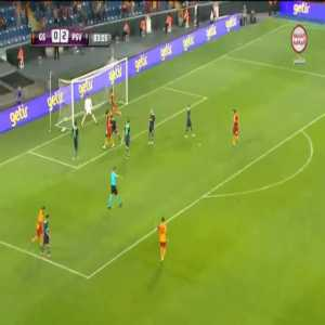 Galatasaray [1]-2 PSV [2-7 on agg.] - Mbaye Diagne 84'