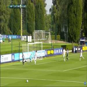 Inter 2-0 Crotone - Federico Dimarco 22'