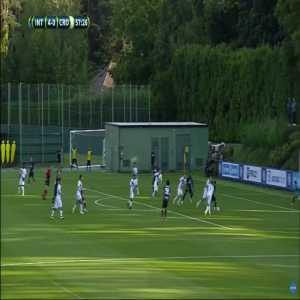 Inter 5-0 Crotone - Stefano Sensi 58'