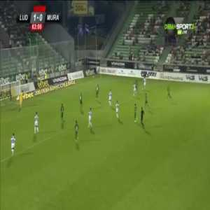 Ludogorets 1-[1] Mura [1-1 on agg.] - Tomi Horvat 64'