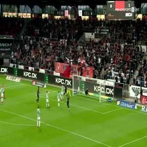 Midtjylland [1]-1 Celtic (2-2): Awer Mabil 61'