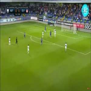 Neftçi 0-1 Olympiacos - Giorgos Masouras 15' | agg. 0-2
