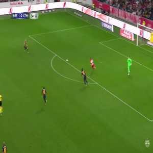 RB Salzburg 1-1 Atlético Madrid: Simeone 56'