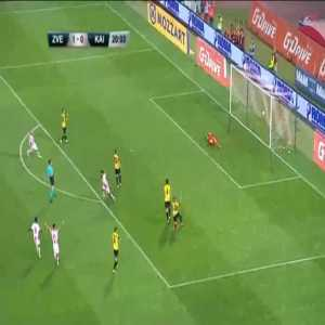 Red Star Belgrade 2-0 Kairat [3-2 on agg.] - Lois Diony 21'