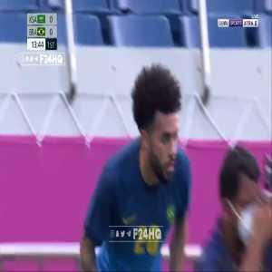Saudi Arabia 0 - [1] Brazil | Matheus Cunha 15' [Tokyo Olympics]
