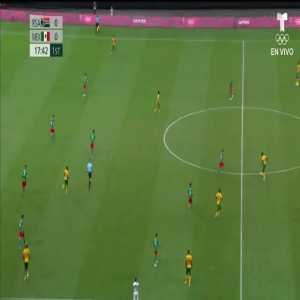 South Africa 0-1 Mexico: Vega 18'