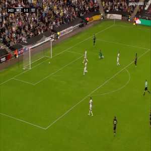Tottenham [1] - 0 MK Dons: Son Heung-min 35'