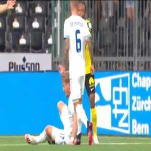 Young Boys 1-0 Slovan Bratislava [1-0 on agg.] - Jordan Siebatcheu penalty 9'