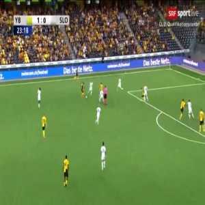 Young Boys 2-0 Slovan Bratislava [2-0 on agg.] - Ulisses Garcia 24'