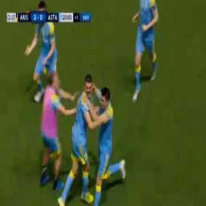 Aris 2-[1] FC Astana [2-3 on agg.] - Eneo Bitri 120'+1'