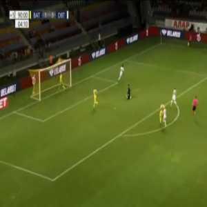 BATE 1-[4] Dinamo Batumi [2-4 on agg.] - Giorgi Pantsulaia 90'+4'