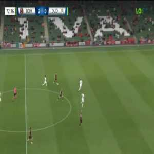 Bohemians 3-0 Dudelange [4-0 on agg.] - Georgie Kelly 73'
