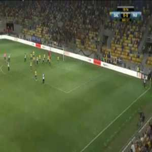 Dunajská Streda 0-1 Partizan [0-2 on agg.] - Danilo Pantic 20'
