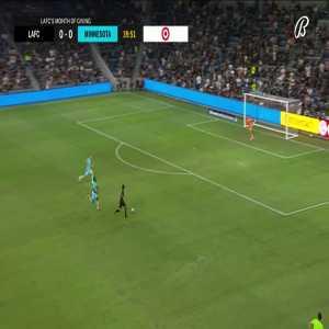LAFC 1-0 Minnesota United: Carlos Vela 40'