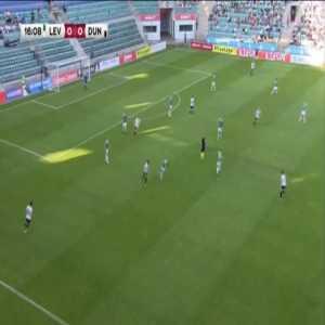 Levadia 1-0 Dundalk [3-2 on agg.] - Ernest Agyiri 17'