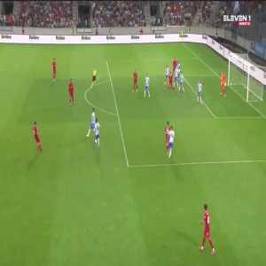 Liverpool [3]-4 Hertha Berlin - Oxlade-Chamberlain volley 88'