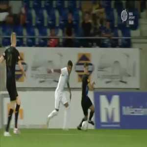 Puskas Academy 0-1 RFS [0-4 on agg.] - Darko Lemajic 54'