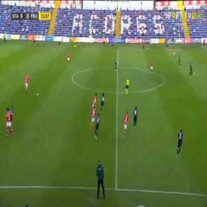 Santa Clara 1-0 Shkupi [4-0 on agg.] - Carlos Carvalho 13'