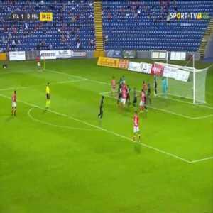 Santa Clara 2-0 Shkupi [5-0 on agg.] - Mikel Villanueva 39'