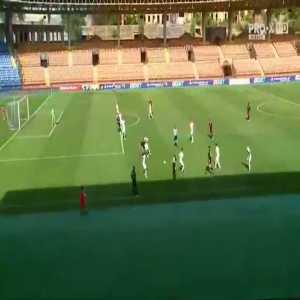 Shakhter Karagandy 1-0 FCSB - Mikhail Gabyshev 11'
